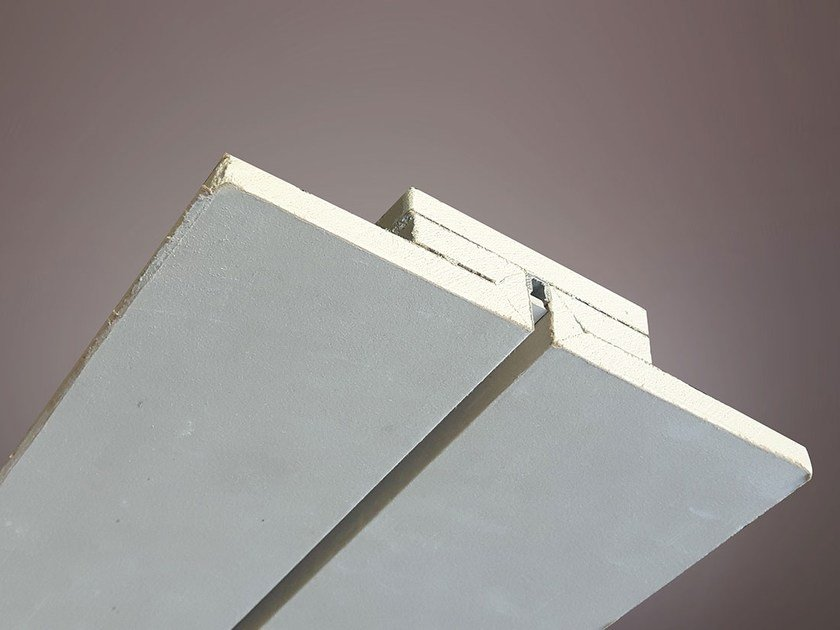 Gypsum Linear lighting profile for LED modules LED 017 by Profilgessi