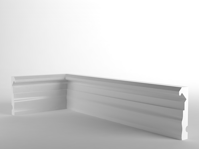 LED XPS Skirting board LED Skirting board by NEW COMING