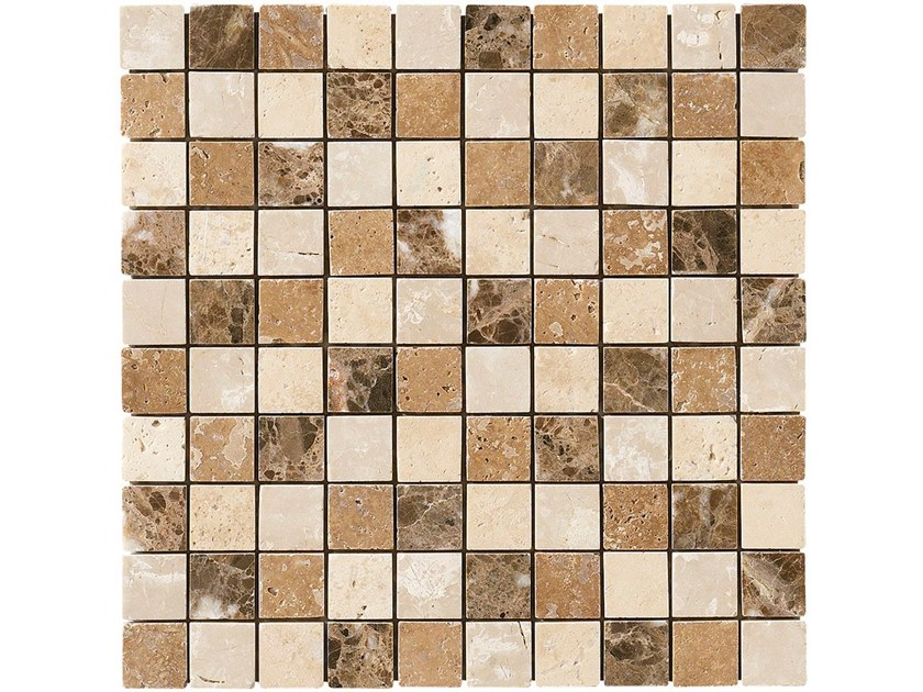 Marble mosaic LEEDS by BOXER