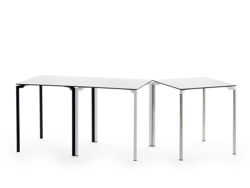 Tavolo impilabile quadrato LEG 04 by Diemmebi
