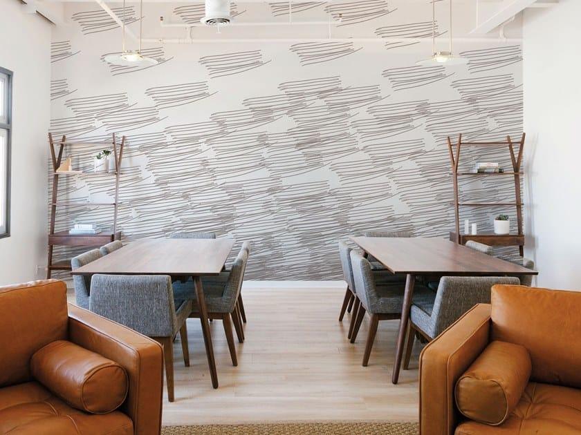 Fire retardant Digital printing wallpaper LEGER by NANNI GIANCARLO & C.