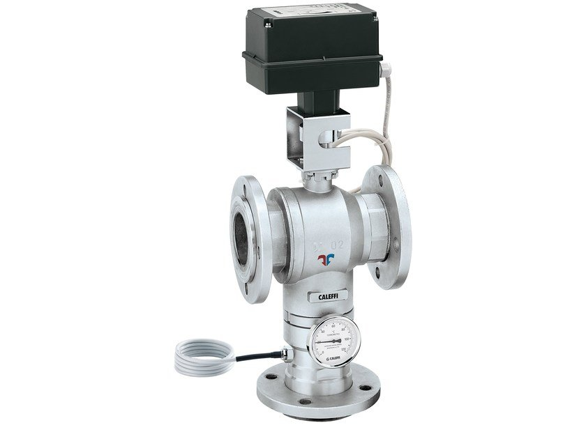 Electronic mixing valve with flanged connections LEGIOMIX® 6000 Flanged connections by CALEFFI