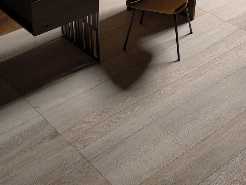 Pavimento/rivestimento in gres porcellanato a tutta massa effetto legno LEGNO B by LaFaenza