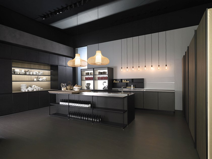 Kitchen with island LEON by Euromobil