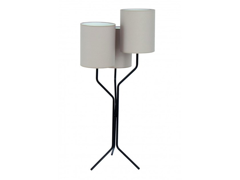 Metal floor lamp LEON by Flam & Luce