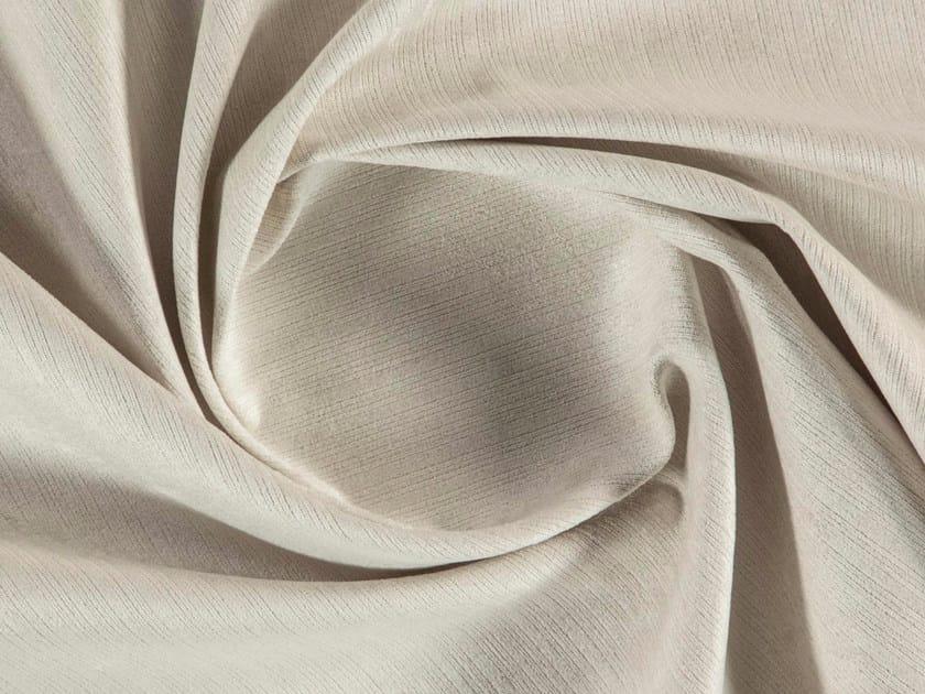 Solid-color washable matt velvet fabric LEONARD by More Fabrics