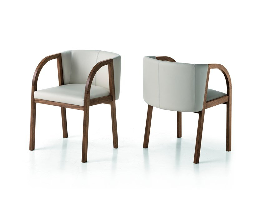 Easy chair with armrests LEONARDO L70N | Easy chair by Arte Brotto