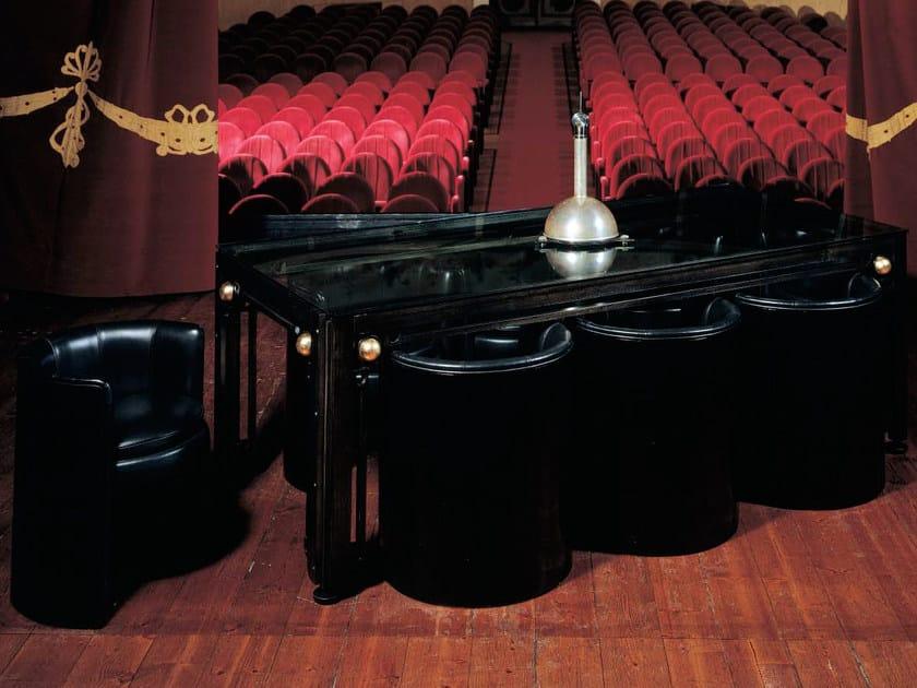Rectangular wooden dining table LEONARDO | Table by Mirabili