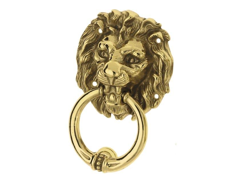 Brass door knocker LEONE by Pasini