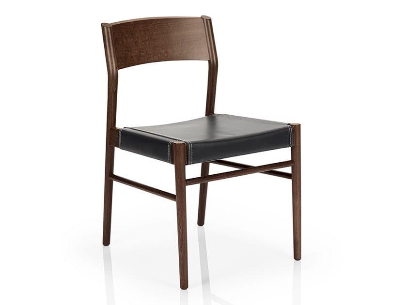 Sedia in legno massello LEONOR M925 LW Collezione Leonor By JMS ...