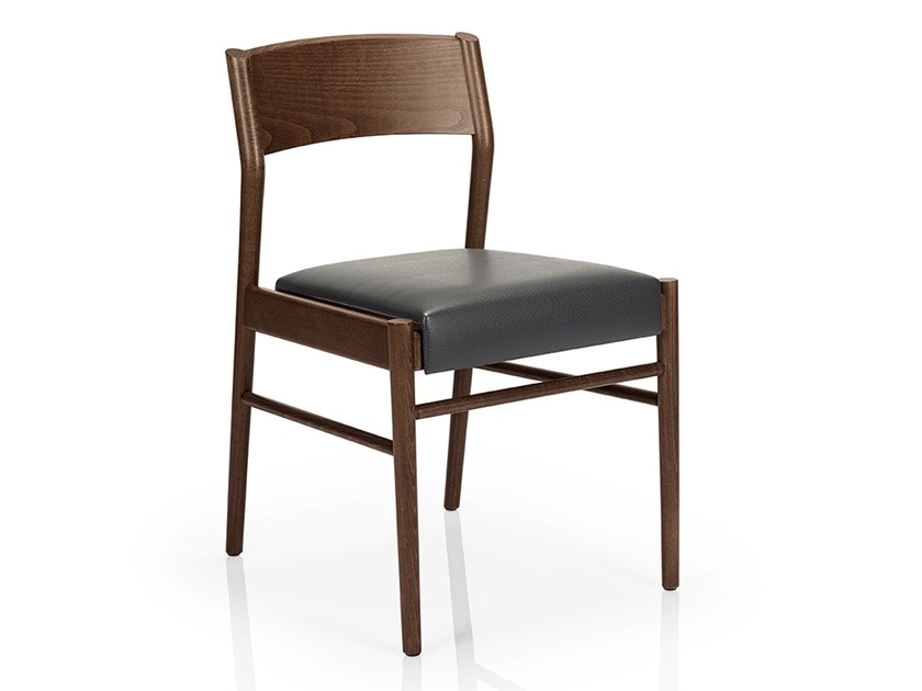Solid wood chair LEONOR M925 UW by JMS