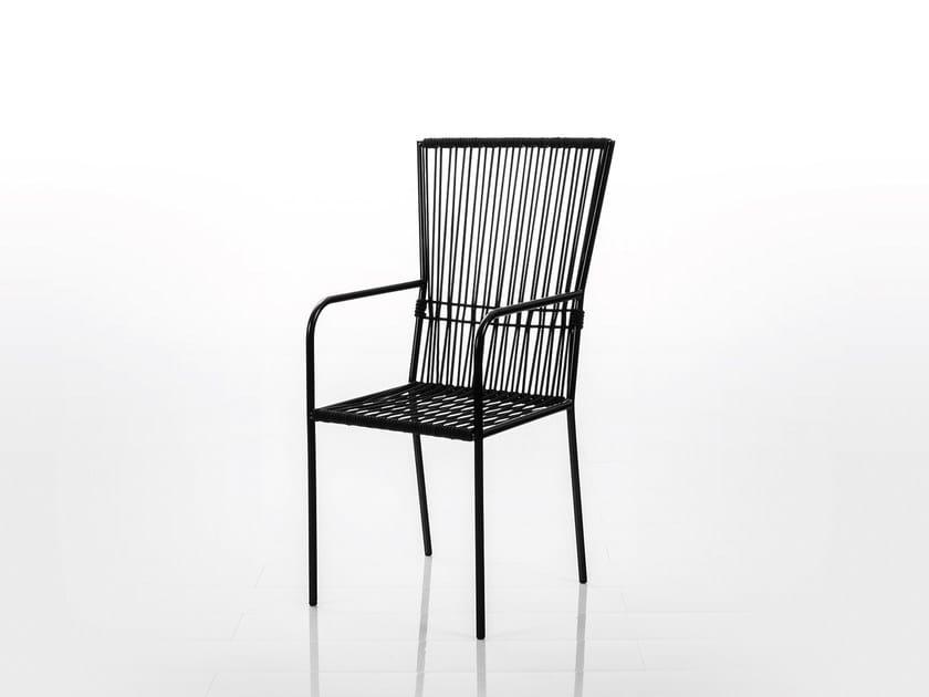 Sedia con schienale alto LES COPAINS MEDIUM | Sedia con schienale alto by brühl