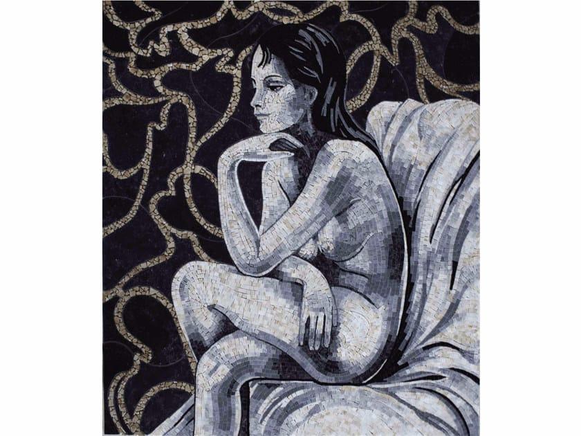 Marble mosaic LES DEMOISELLES II by Lithos Mosaico Italia