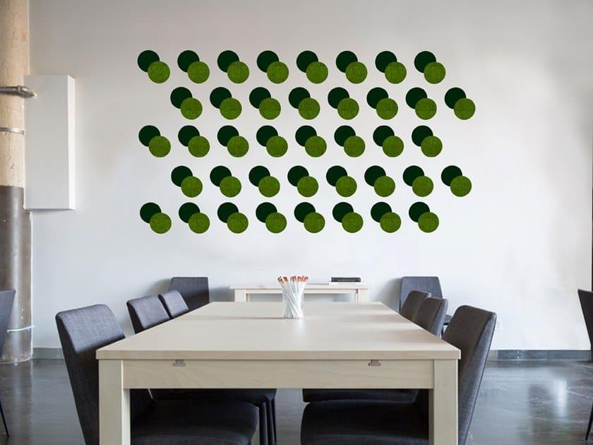 Decorative acoustic panel LES PETITS POIS by Slalom