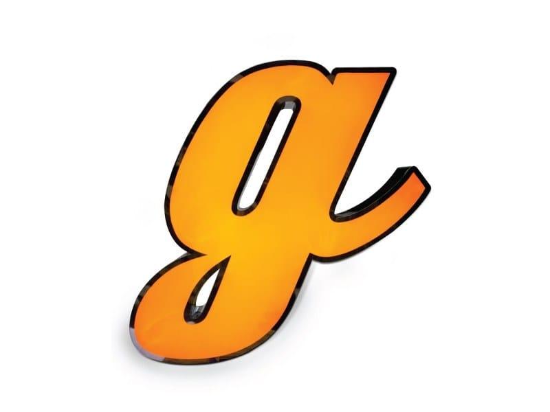Light letter LETTER G by Delightfull
