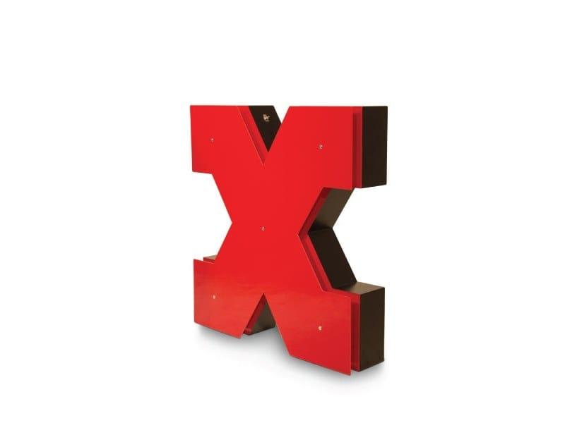 Light letter LETTER X by Delightfull