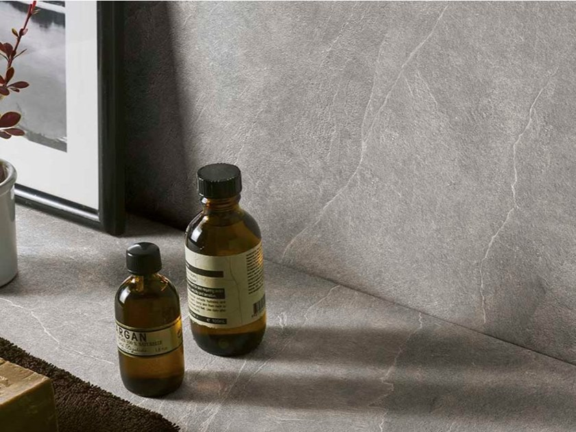 Porcelain stoneware wall tiles with stone effect LEVEL STONE by Level by Emilgroup