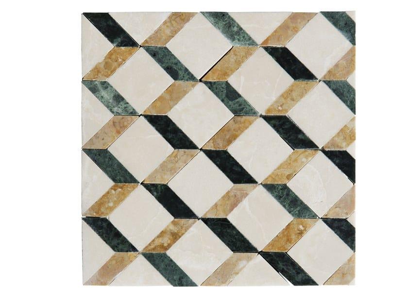 Marble mosaic LEVIGATI A MANO 02 by FRIUL MOSAIC