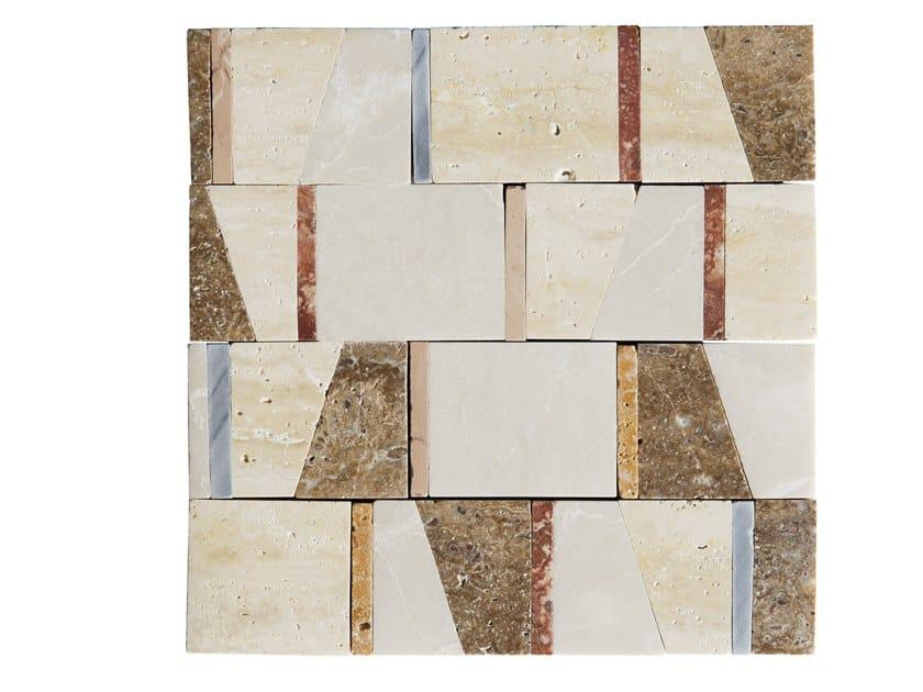 Marble mosaic LEVIGATI A MANO 03 by FRIUL MOSAIC