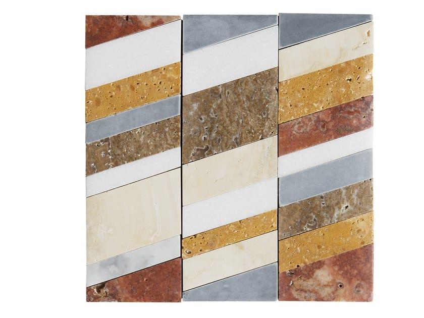 Marble mosaic LEVIGATI A MANO 05 by FRIUL MOSAIC