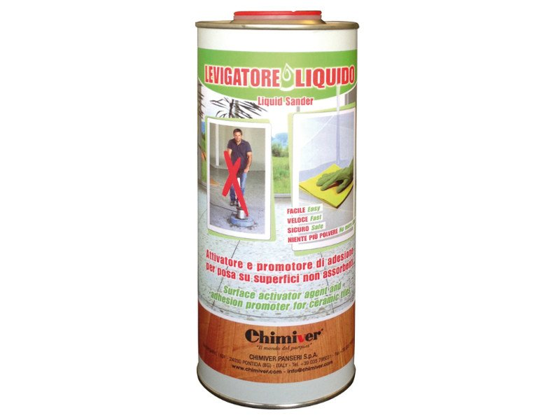 Adhesion promoter for ceramic tiles LEVIGATORE LIQUIDO by Chimiver Panseri