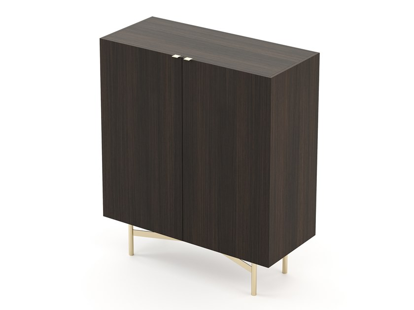 Wooden bar cabinet LEWIS | Wooden bar cabinet by Laskasas