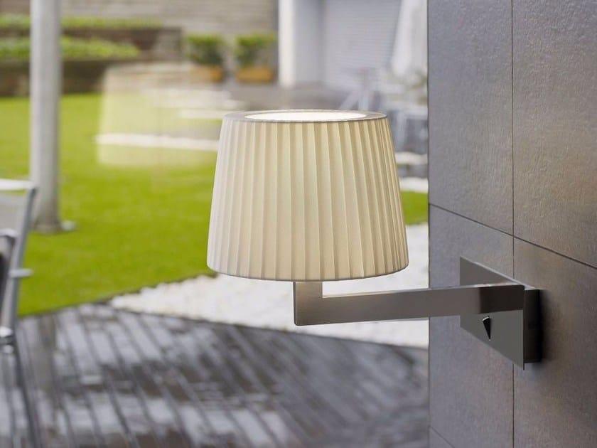 LED fabric wall lamp LEXA HORIZONTAL by BOVER