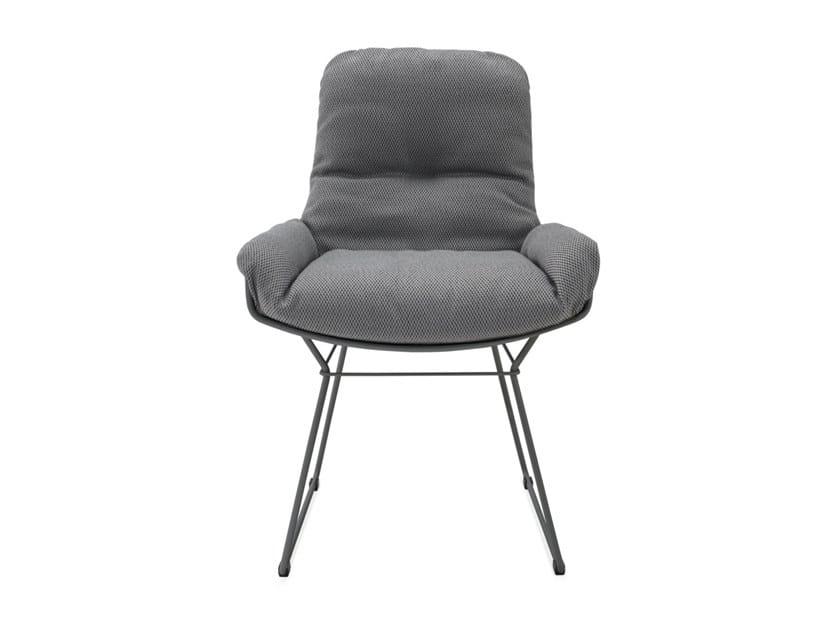 Sled base garden Sunbrella® easy chair LEYASOL OUTDOOR ARMCHAIR LOW by Freifrau