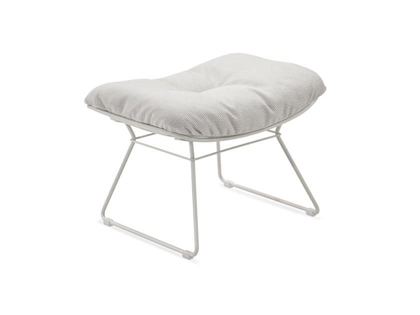 Rectangular Sunbrella® garden footstool LEYASOL OUTDOOR OTTOMAN by Freifrau