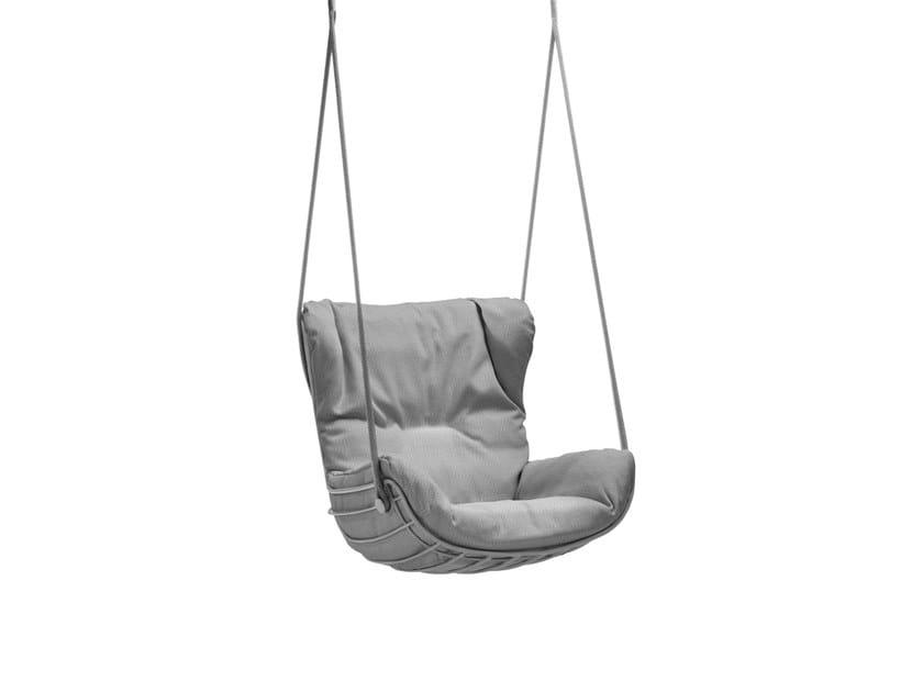 Sunbrella® garden hanging chair LEYASOL OUTDOOR WINGBACK SWING SEAT by Freifrau