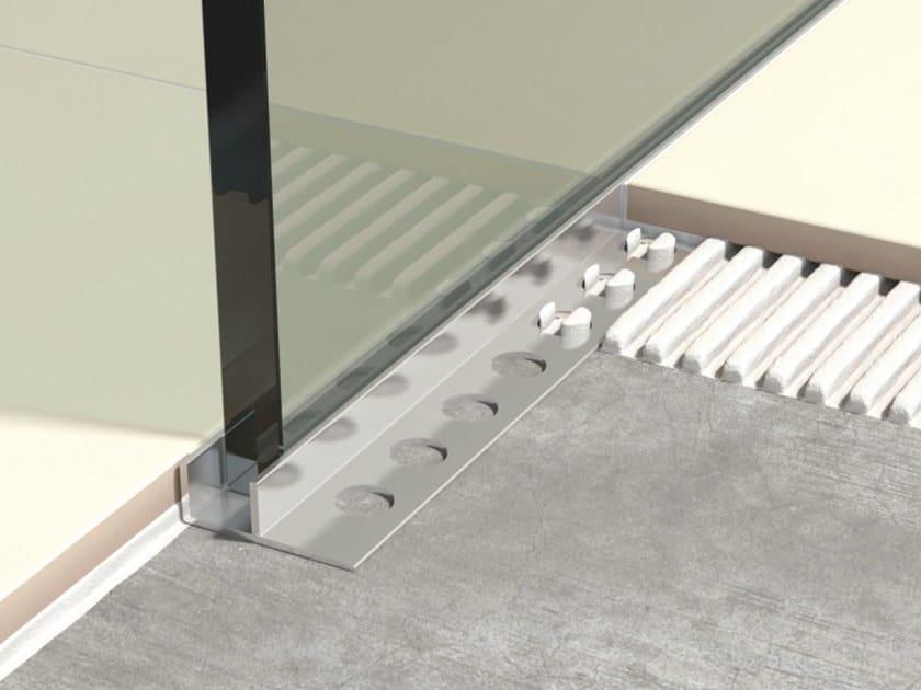 Aluminium Flooring joint LGA by Genesis
