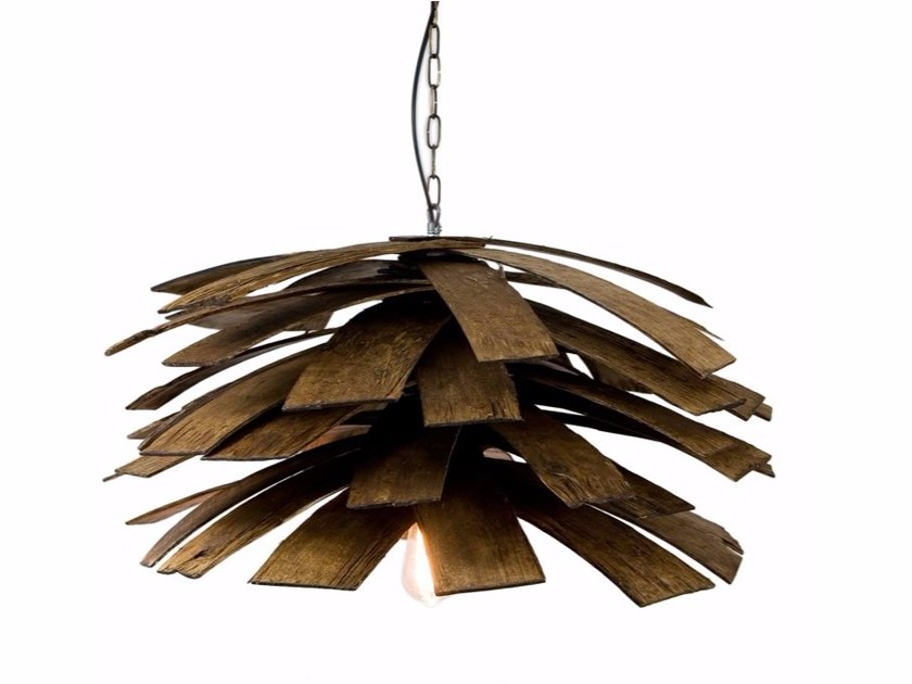 Multi-layer wood pendant lamp LGH0240 | Pendant lamp by Gie El Home