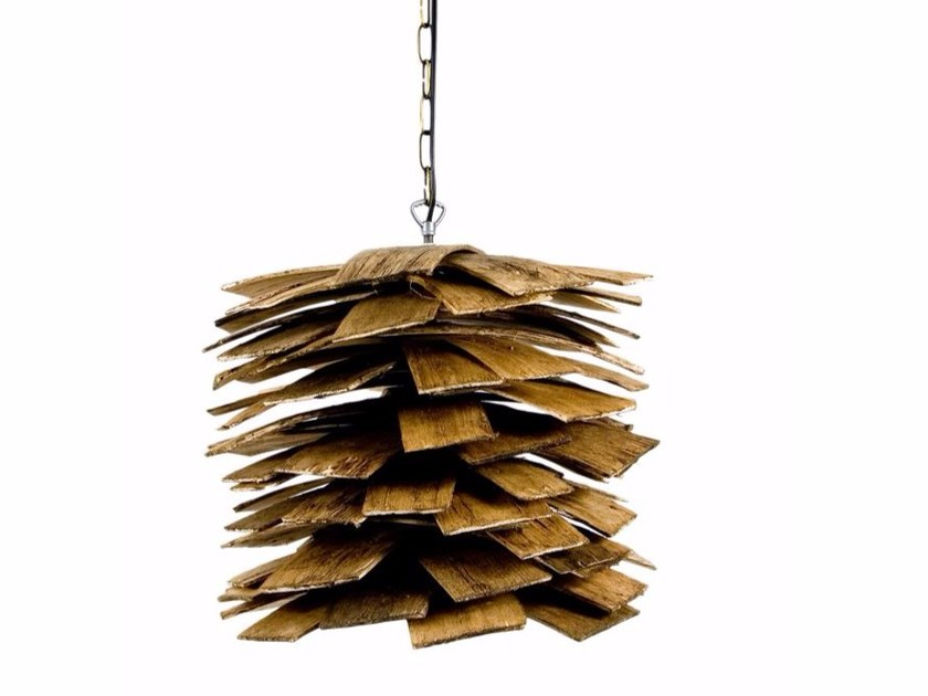 Multi-layer wood pendant lamp LGH0241 | Pendant lamp by Gie El Home