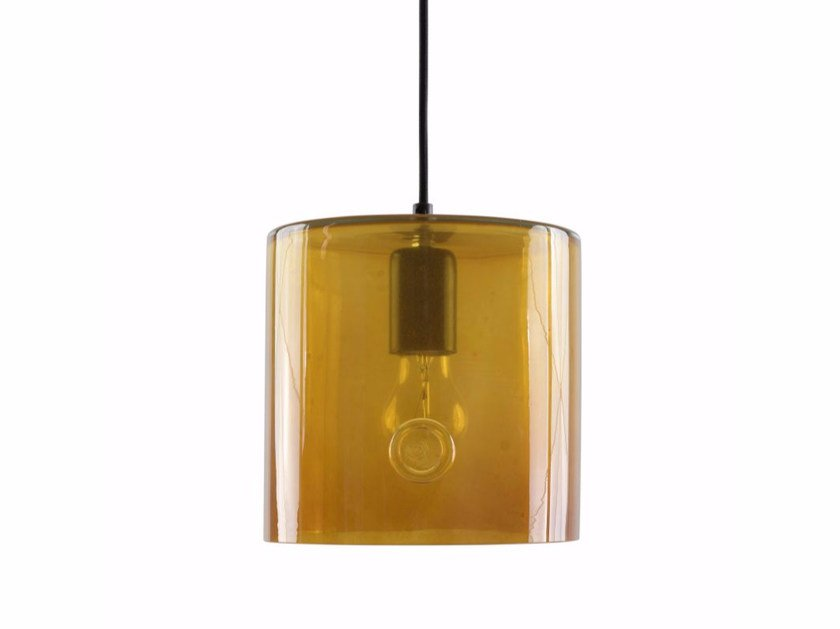 Handmade stained glass pendant lamp LGH0420-0423 | Pendant lamp by Gie El Home