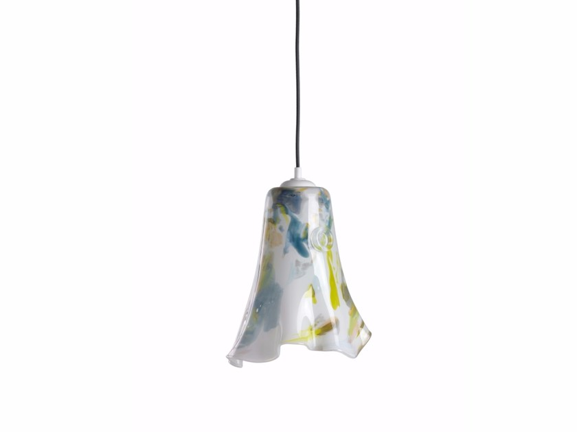 Glass pendant lamp LAVA II by Gie El Home