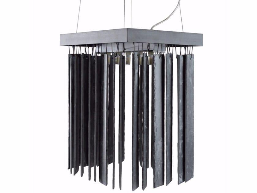 Slate pendant lamp RAIN SMALL by Gie El Home