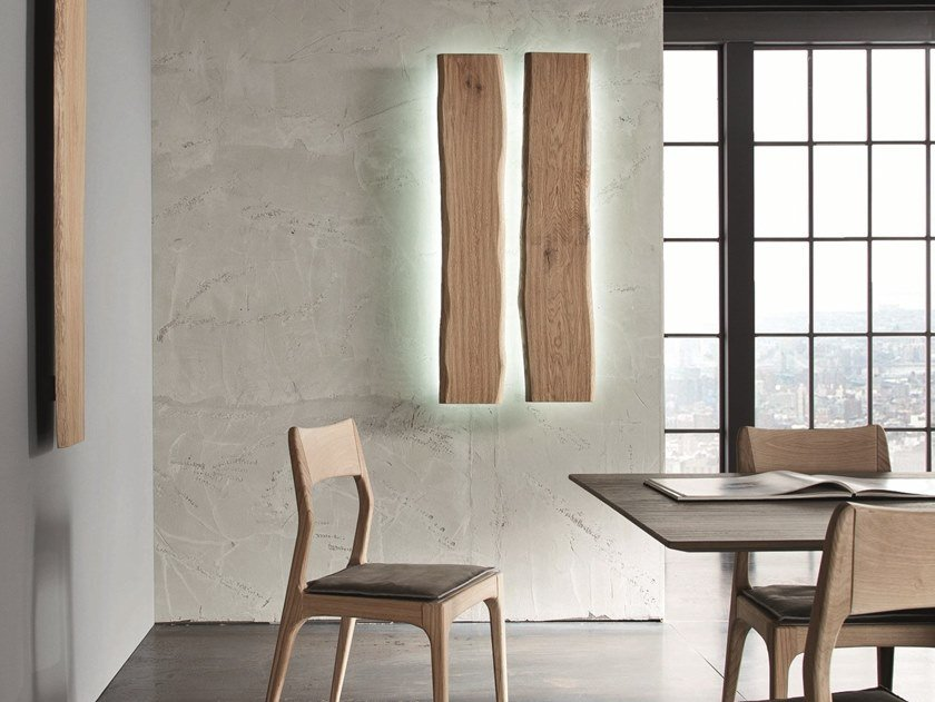 LED wooden wall lamp LH30 by AltaCorte