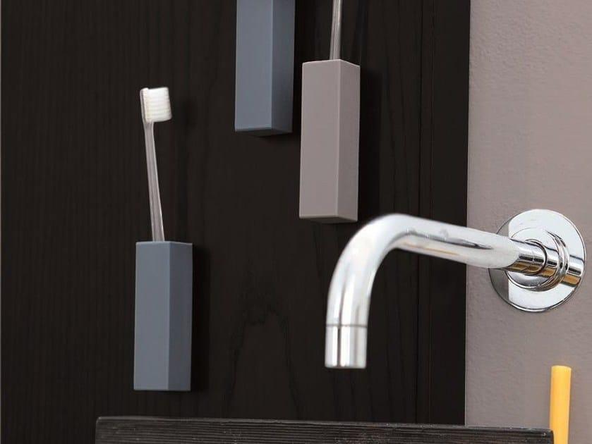 Polyurethane toothbrush holder LISTIAMO by Geelli by C.S.
