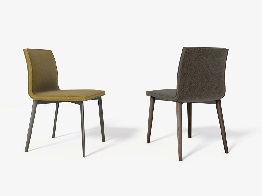 Upholstered Fabric Chair LIAS By Bonaldo