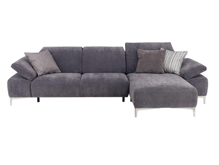 Fabric Sofa With Chaise Longue LIBERTA