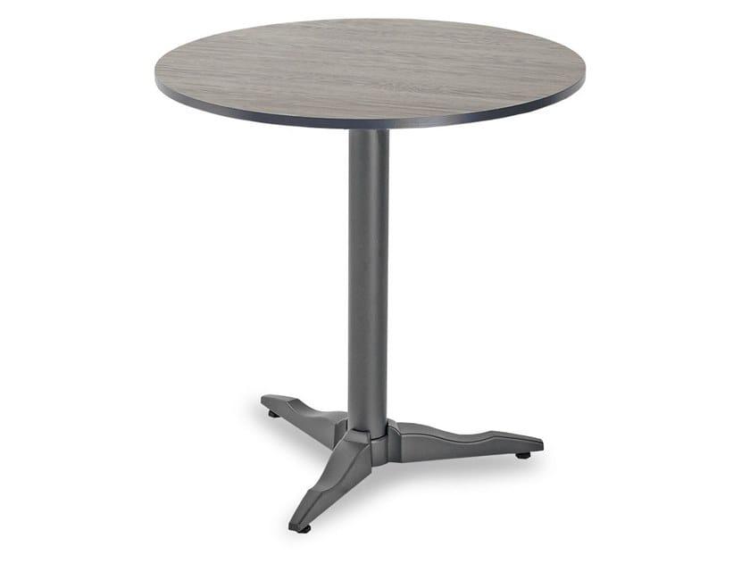 Round garden table with 3-star base LIBERTY BASIC by Garden Tech