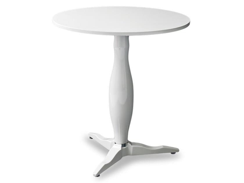 Round garden table with 3-star base LIBERTY by Garden Tech