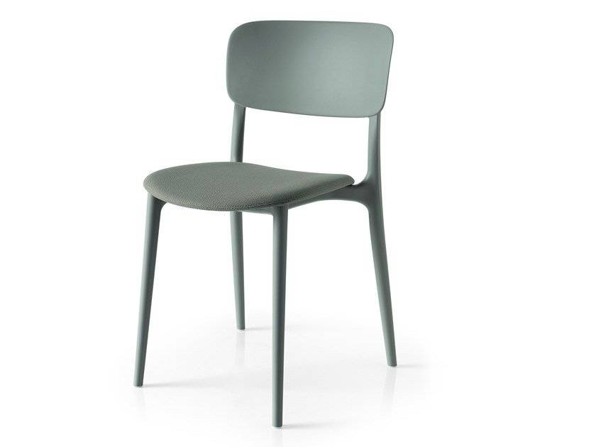 Stackable chair LIBERTY SOFT by Calligaris