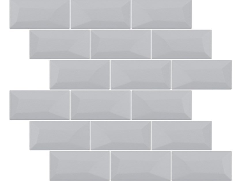 Indoor ceramic wall tiles with brick effect LIBRA MATTE GRAY SALT by Appiani