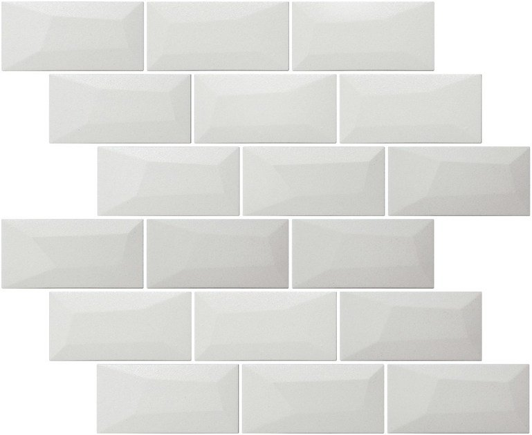 Indoor single-fired ceramic wall tiles with brick effect LIBRA MATTE MILK by Appiani