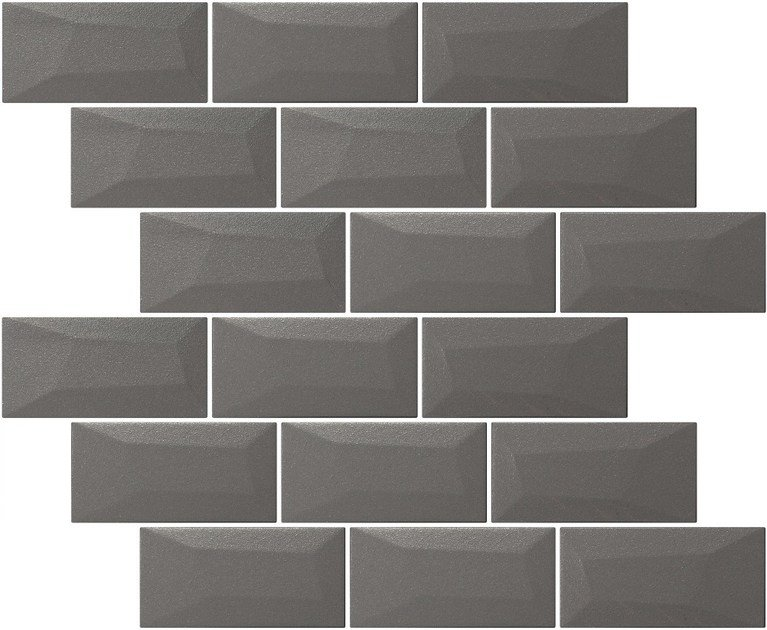 Indoor single-fired ceramic wall tiles with brick effect LIBRA MATTE OYSTER by Appiani