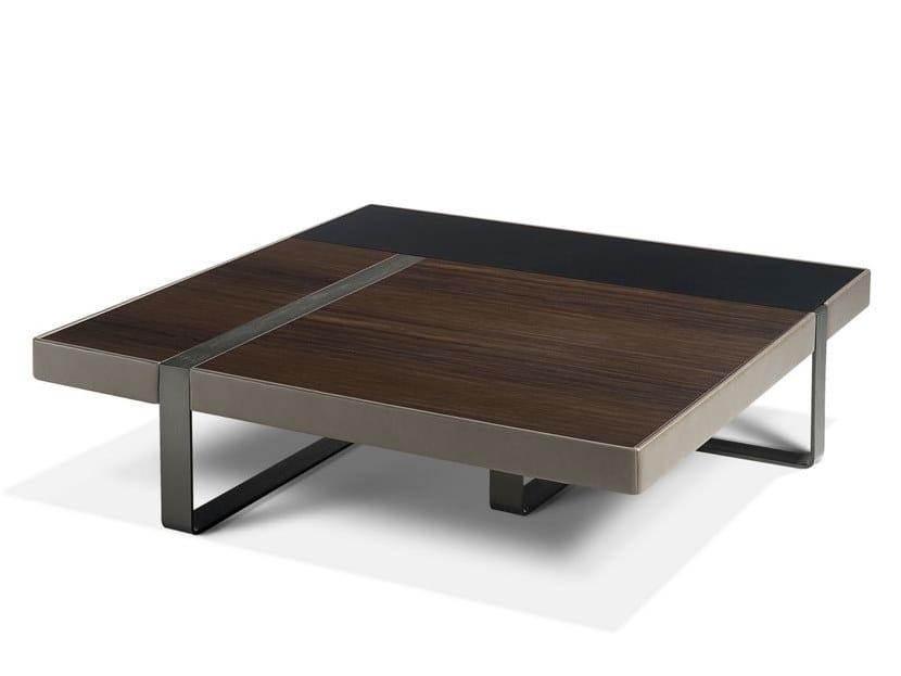 Low square coffee table LIBRETTO | Coffee table by ROCHE BOBOIS