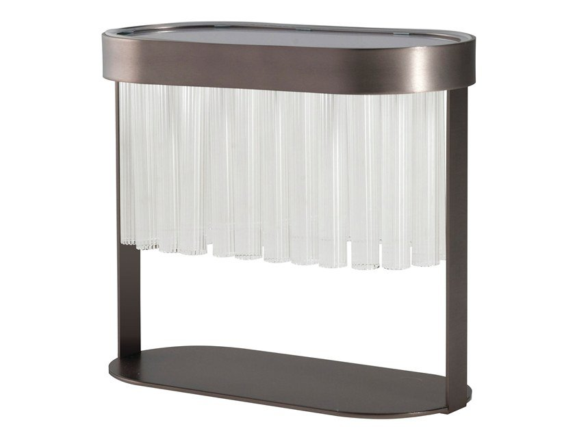 Lampada da tavolo in acciaio e vetro LIBRETTO | Lampada da tavolo by ROCHE BOBOIS
