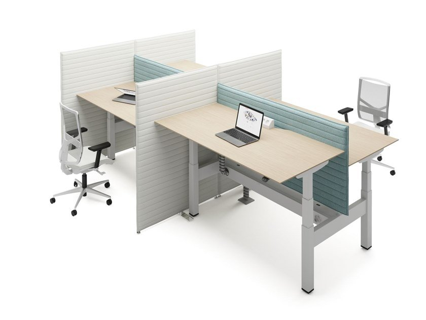 Multiple office workstation LIFT DUO by FURNIKO