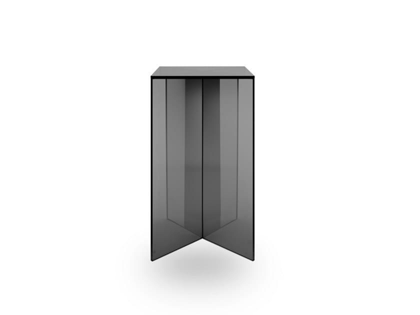 Glass pedestal LIFT X   Pedestal by EXENZA